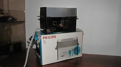 grille pain vintage philips hm 3420 design état neuf en boit collection toaster