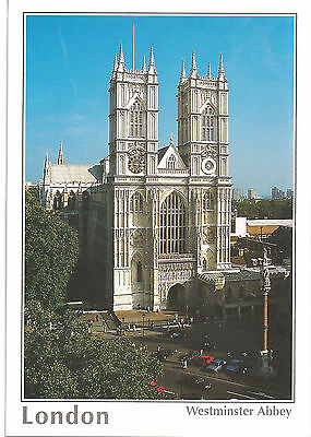Postcard: Westminster Abbey, London, England - Unposted