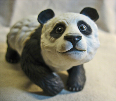 Signed Boehm #40304 Panda Bear Cub Excellent Near Mint Made in USA