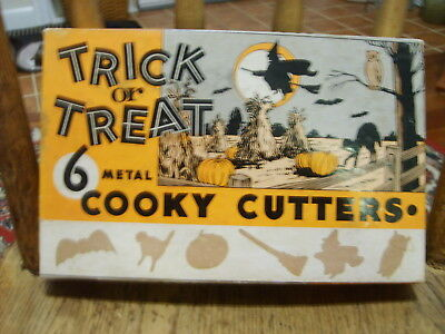 Vintage Trick or Treat Metal Cooly Cutters