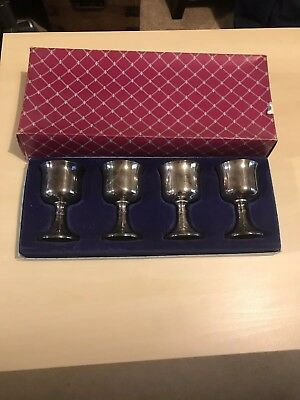 Ianthe Silver Played Goblets