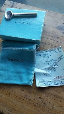 TIFFANY AND CO STERLING SILVER   Tooth paste squeezer  CIRCA 6TH FEB 1968