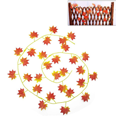 Thanksgiving Decorations,Artificial Maple Leaves,Harvest and Decor NEW HOT US