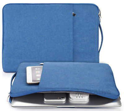 Laptop Sleeve 15 Inch Portable Handle Water Resistant Protective Computer Case