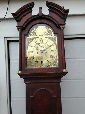 John Sterland Of Nottingham Eight Day Longcase Clock