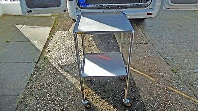 Medical Stainless Steel Medical Trolly Ideal Rectro Drinks Trolly