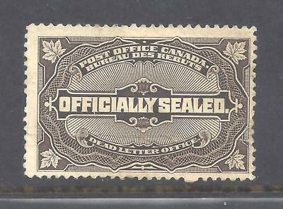 Canada OFFICIALLY SEALED SCOTT OX4 USED (BS12188)