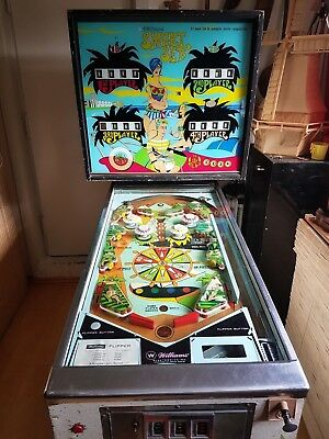"Williams Flipper Flipperautomat Pinball 1969 ""SMART SET"""