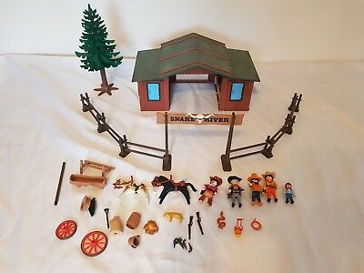 Auktion GEBRAUCHT : Western Snake River Ranch Set 3805 (fast komplett)
