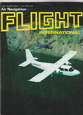 FLIGHT INTERNATIONAL Magazine 17 July 1969 - Britten-Norman Islander Cover