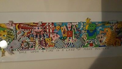 "JAMES RIZZI  ** 3D **    "" ONCE UPON A TIME  IN A LAND "" SCHöNE RAHMUNG!  SUPER!"
