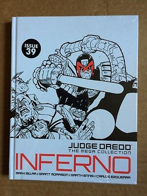 judge dredd mega collection Issue 39 Inferno Sealed New