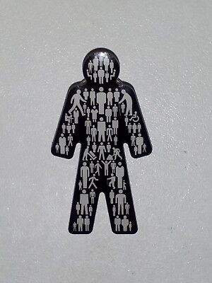 Brand New Prostate Cancer - (MEN UNITED) UK Pin Badge Sealed ALL PROFITS TO PCUK