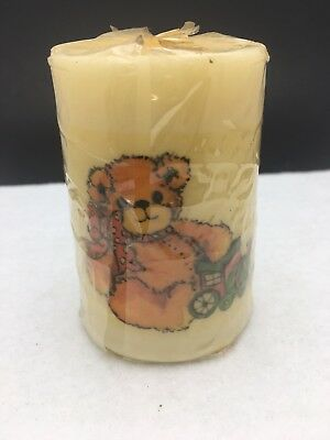 Vtg 80's Enesco Lucy & Me Lucy Rigg Teddy Bear Holiday Candle Train Toy Gift