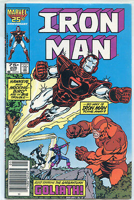 Iron Man Issue #206 (May 1986, Marvel Comics)