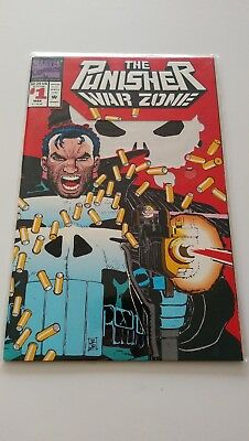 The Punisher: War Zone #1 (Mar 1992, Marvel) Comic Book Near Mint Bagged Boarded