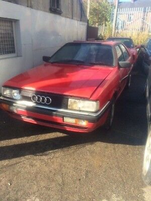 Audi B2 coupe quattro project car with AAN and 6 speed 01e gearbox