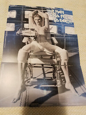Unstoppable cards David Bowie Man Who Fell To Earth 9 card gold puzzle set