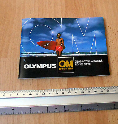 Olympus Interchangeable Lens Group Catalogue for For Cameras