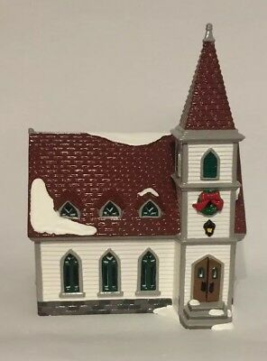 Dept 56 Snow Village Shady Oak Church  #54623