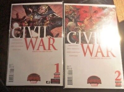 Civil War 1 & 2 - Marvel comics