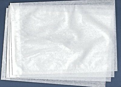 100 CLEAR FACE BAGS 21mm x 32mm NEW FOR STAMPS