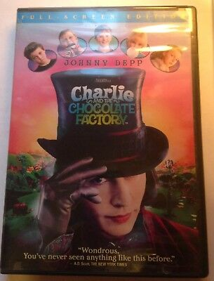 Charlie And The Chocolate Factory (DVD, 2005, Full-Screen Edition)