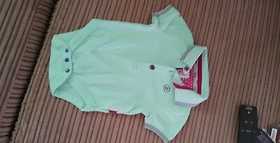 5efcc2566 TWO TED BAKER Baby Boys Polo Bodysuit Romper Age 3 6 Months - £5.00 ...