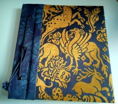Liberty Heraldic Animals Print Fabric Photograph Album Scrapbook Unused Gift