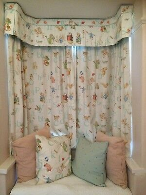 Jane Churchill Beatrix Potter nursery curtains, valance, bunting and more