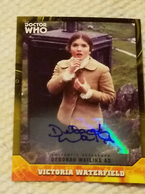 Doctor Who Signature autograph card MICHAEL JAYSTON YELLOW 11/25