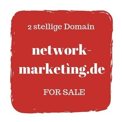 TOP Domain ++ network-marketìng.de ++ Ideal für Network, system Marketing MLM