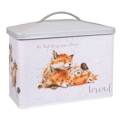 Wrendale Designs Bread Bin - Bunny and Fox The Best thing Since Sliced Bread Tin