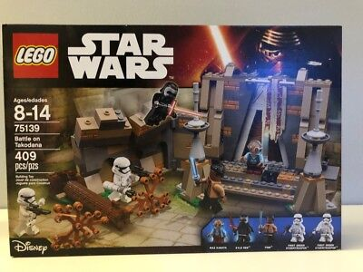 LEGO Star Wars Battle on Takodana - Force Awakens - 75139 NEW