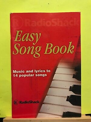 Pre-owned ~ Radio Shack Easy Song Book Playbook Booklet (Hal Leonard Publication