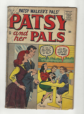 Patsy and her Pals #26 atlas comics 1957 issue