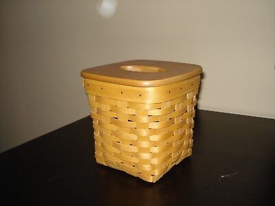 Longaberger Tall Tissue Basket Combo