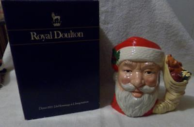 Vintage Royal Doulton Santa Claus Large Toby Jug-Perfect And Beautiful-Look!