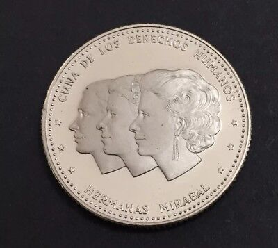 Dominican Republic 1986 25 Cents Proof Coin