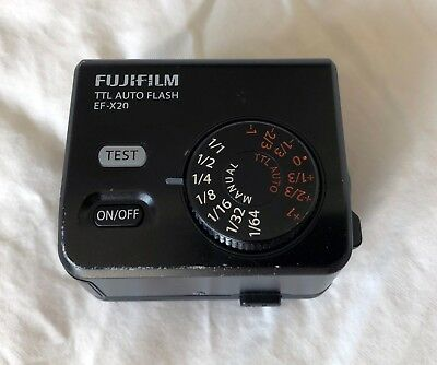 Fujifilm  EF-X20 Shoe Mount Flash (some cosmetic signs of use)