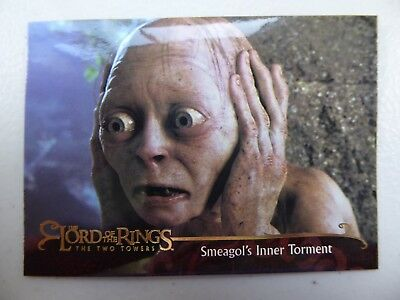 TOPPS Lord of the Rings: The Two Towers - Card #119 SMEAGOL'S INNER TORMENT