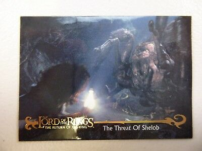 TOPPS Card : LOTR The Return Of The King  #66 THE THREAT OF SHELOB