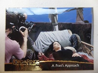 TOPPS Card : LOTR The Return Of The King  #83 A POET'S APPROACH