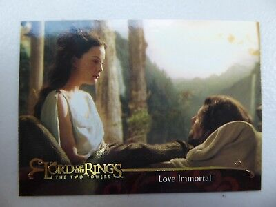TOPPS Lord of the Rings: The Two Towers - Card #124 LOVE IMMORTAL