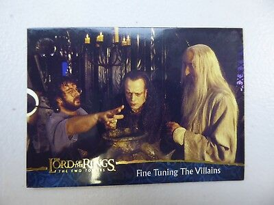 TOPPS Lord of the Rings: The Two Towers - Card #83 FINE TUNING THE VILLAINS