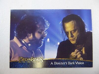 TOPPS Lord of the Rings: The Two Towers - Card #85 A DIRECTOR'S DARK VISION
