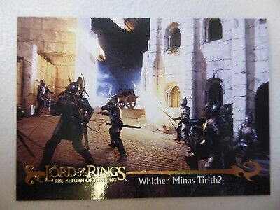 TOPPS Card : LOTR The Return Of The King  #59 WHITHER MINAS TIRITH?