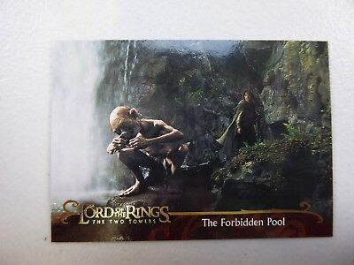 TOPPS Lord of the Rings: The Two Towers - Card #134 THE FORBIDDEN POOL