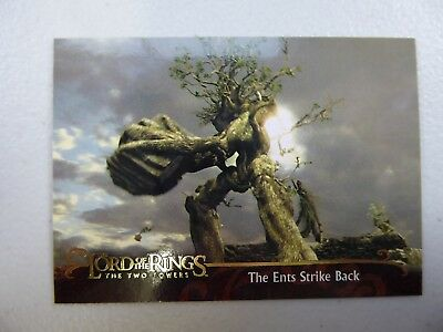 TOPPS Lord of the Rings: The Two Towers - Card #144 THE ENTS STRIKE BACK