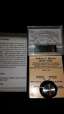 Trifield TF100XE EMF Meter Model 100XE Brand New with Manual